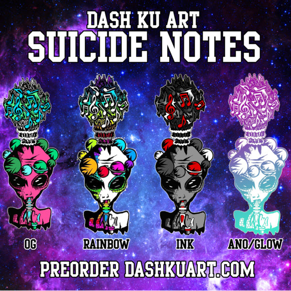 SUICIDE NOTES FULL SET (Sold Out)